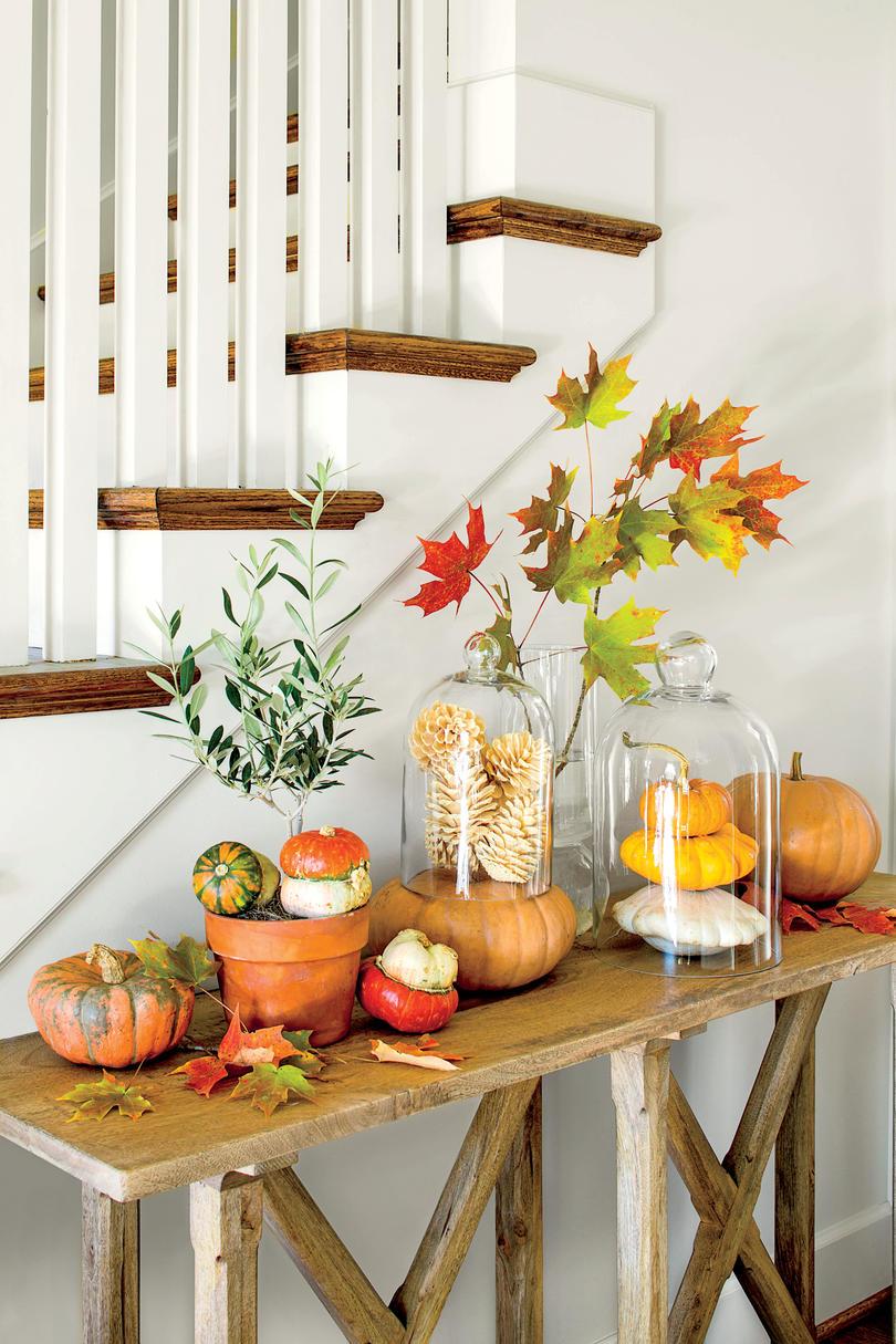Autumn Decor on a Budget
